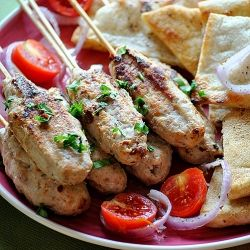 Kebab with chicken. Are you ready?Μα Γυρεύοντας Με, Την Αλεξάνδρα, With, Post, Mi Cookbooks, Με Κοτόπουλο, Από Τη, Κεμπάπ Με, Chicken Kebabs