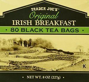 (6 Boxes) Trader Joe's Original Irish Breakfast Tea - 80 Black Tea Bags Per Box