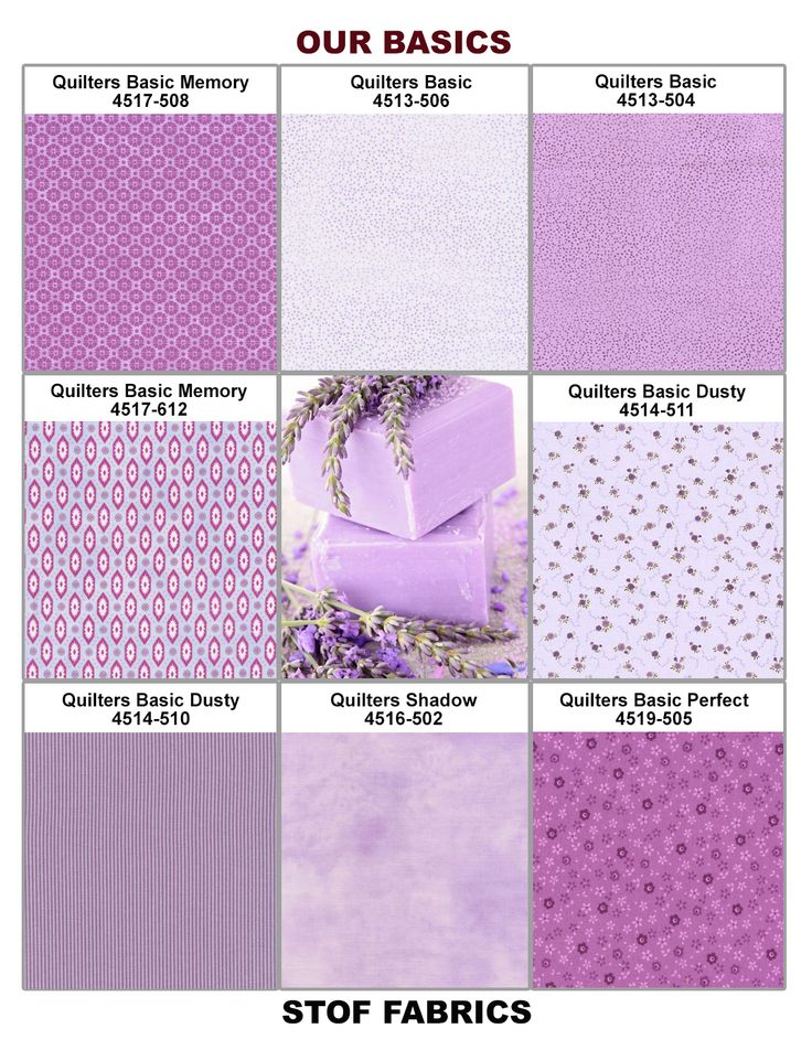 Lavender Herb Plate (2015 Pantone Spring Color) with Stof Basic Collections.