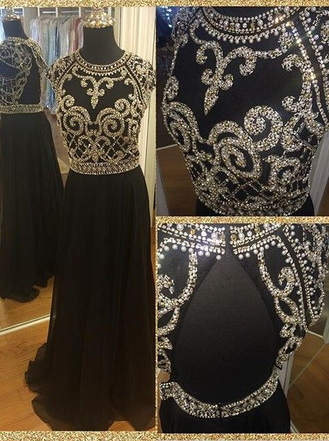#Prom dress,Prom dresses,Prom dress 2016,Beaded prom dress,Backless prom dress,Long chiffon prom dress,Beading prom dress