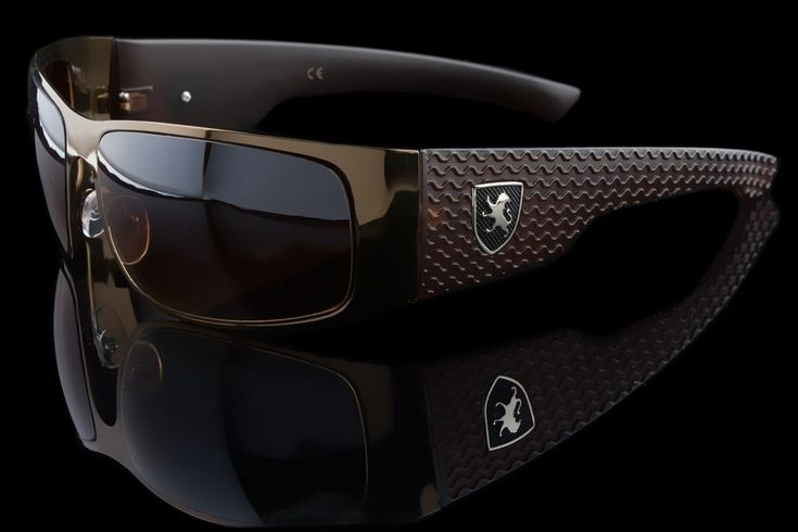 "Luxury Driving Wraparound Tire Tread Design Sunglasses ""Huracan"" https://goo.gl/v6cgzu"