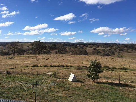 Imagine working outside with this view all day? Gutter-Vac Central West NSW had the pleasure of cleaning the gutters on this property, with this incredible outlook at their backdrop.