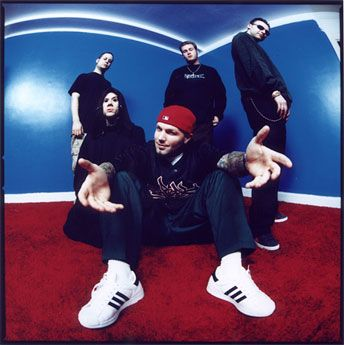 Limp Bizkit - owned the stage at the Summer Sanitarium in 2004.