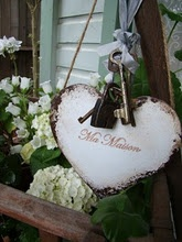 pretty heart: Valentines, Cottage, French Country, Things Red, Craft Ideas, Valentine S, Crafty Ideas