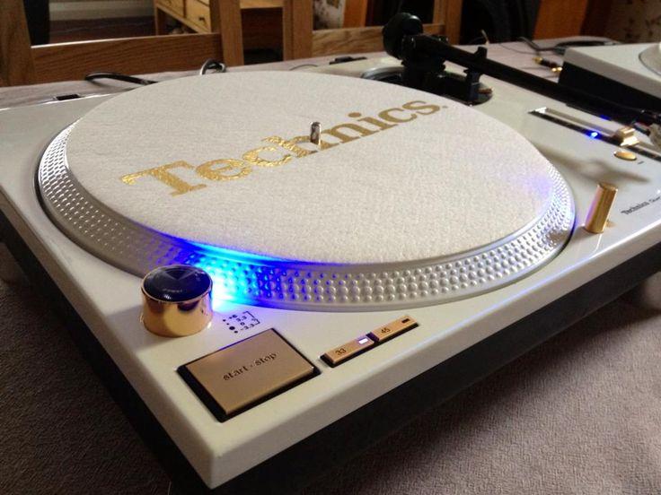 Custom Technics 1210 - Pearl white and gold