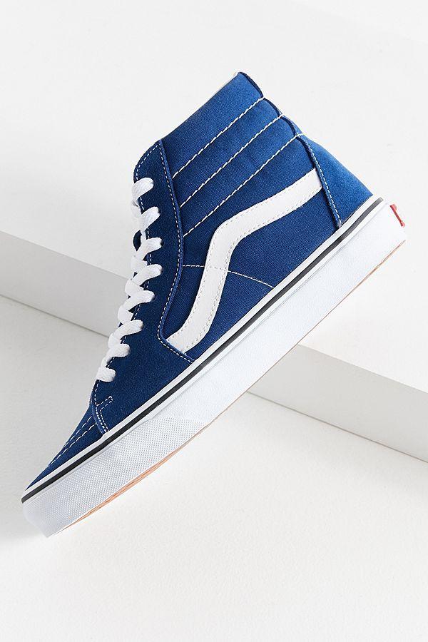 Slide View  1  Vans Sk8-Hi Suede Sneaker  8fcee3c0a