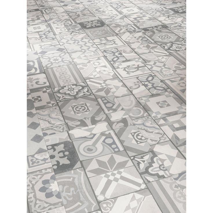 Nutzungsklasse: 23/33/42 intensive Nutzung • Paketinhalt: 2,148 m² ✓ Parador Vinylboden Trendtime 5.50 Ornamentic Grey ➜ Vinylböden bei OBI kaufen