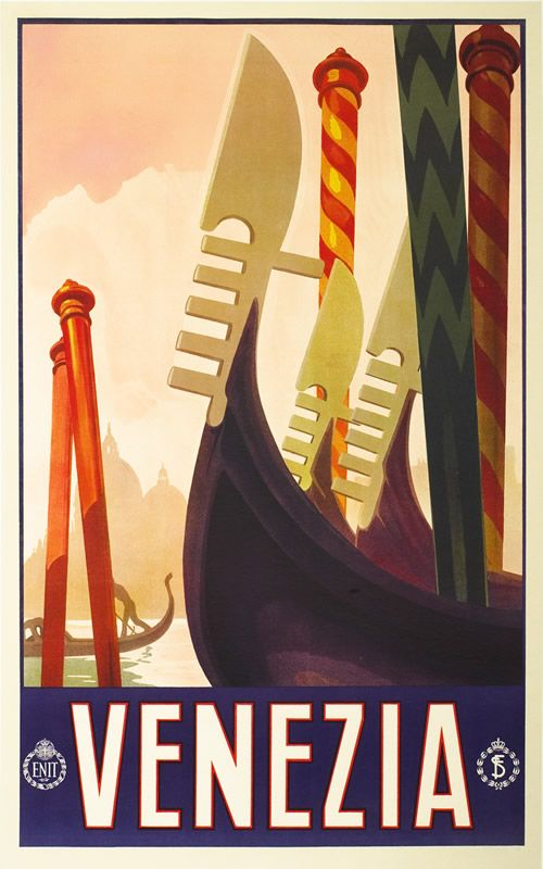 Travel Poster, Italy, 1920