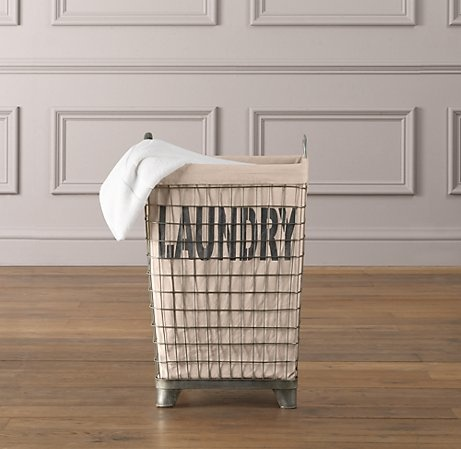 Industrial Laundry Basket (thingy) Style: Industrial, Minimalist Colour: Neutrals, metals Price: NO FUCKING WAY