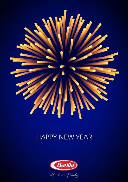 Advertising inspiration, pasta fireworks by Barilla. Simple but effective! Marketing Inspiration | Creative Branding | Visual Art