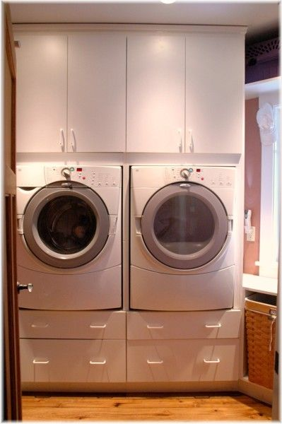 Ideeen ontwerp Wasruimte : Westchester laundry room organizer custom cabinetry remodel