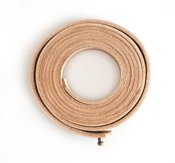 Full Grain Leather Belt Vegtan Leather Strap Womens Fashion