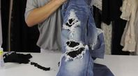 How to Make Your Own Sexy Ripped Jeans | eHow