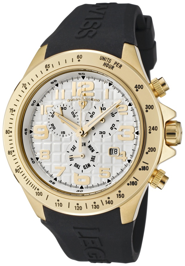 Price:$139.99 #watches SWISS LEGEND 30041-YG-02, With a detailed facade displaying multi-functional subdials, this Swiss Legend chronograph is style built with precision.