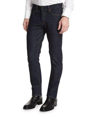 M2W64 TOM FORD Slim-Fit Stretch Denim Jeans, Indigo