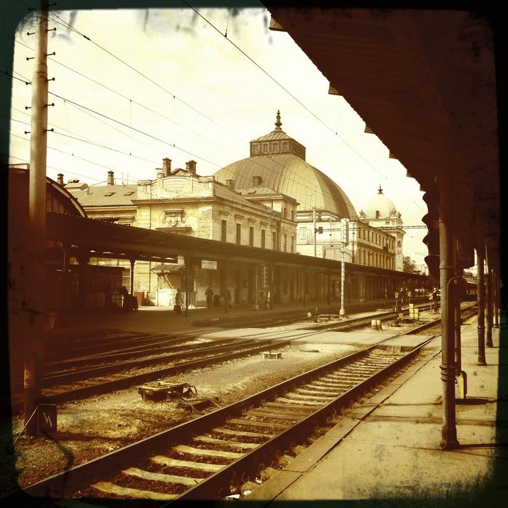 Plzen Railway Station
