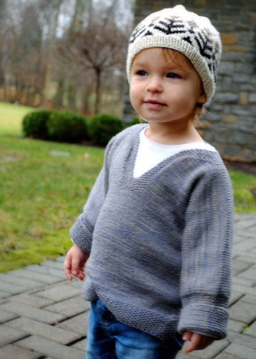 Easy Pullover for Babies, Toddlers and Kids | Purl Soho - Create