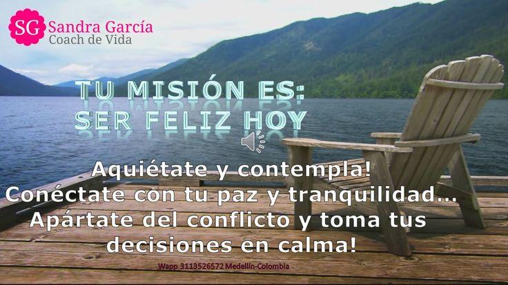Cada día es una nueva oportunidad! Respira, ábrele tus brazos a la vida, cierra capítulos y sigue avanzando!!!  #misionserfelizhoy | #misionserfeliz | #autocoaching | #SandraGarciaCoachdeVida  Tu cita de valoración gratuita está disponible, solicítala aquí: http://www.misionserfelizhoy.com o vía Chat.  Solicita tu cita de valoración gratuita aquí: http://www.misionserfelizhoy.com/  En Facebook: https://www.facebook.com/misionserfel... o en Instagram…