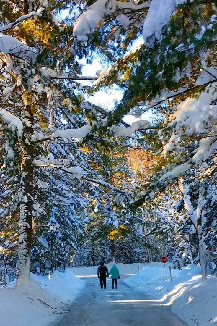 Arrowhead Ice Skating Trail In Muskoka Allows Canadians To Skate Through The Forest