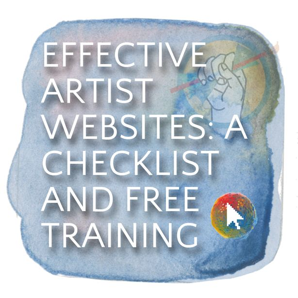 The Artist Website Checklist - The Abundant Artist