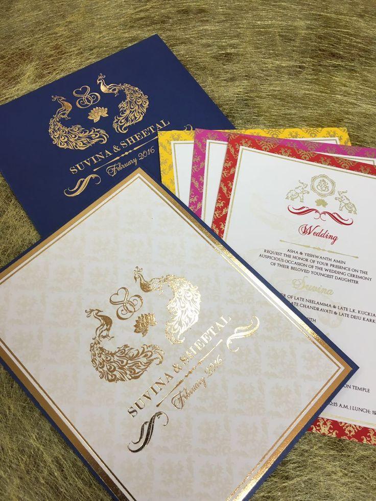 Wedding Invitation cards, Indian wedding cards, invites, Wedding Stationery, Customized invitations, Custom Invites, Stationery, Designer cards, Gold Foiling, Laser Cutting, Indian prints, letterpress, Indian Wedding, Save the Date, Custom Stationery, Mumbai, India, WedMeGood, Maharani Weddings, Indian Wedding Site, E : info@customizingcreativity.in FB: dishamehtadesign Instagram: customizing_creativity M : +91-9819203251