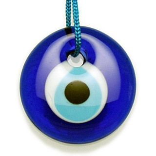 I have a couple of these. They're 'eyes' from Turkey for good luck
