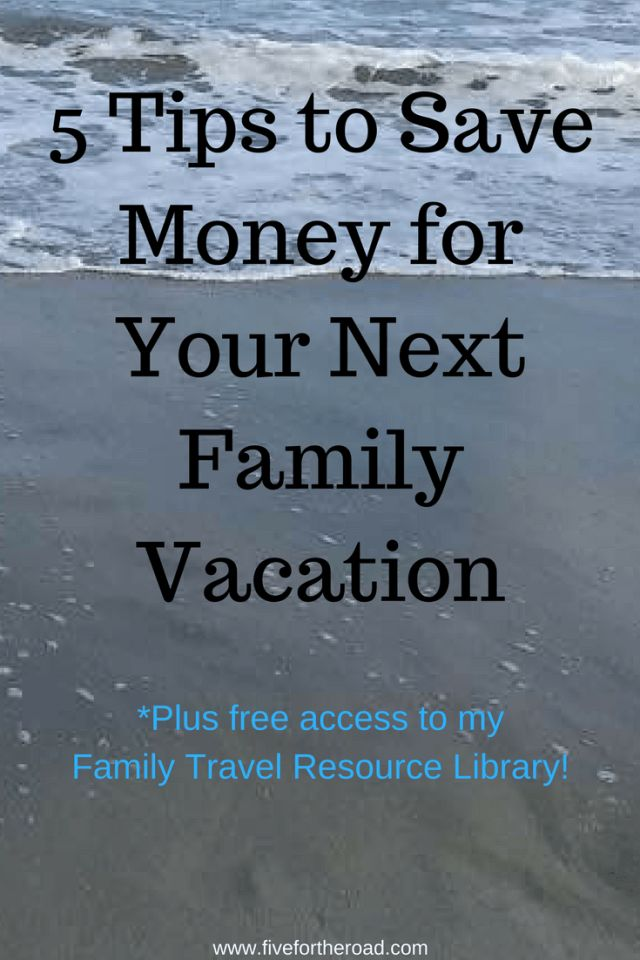 Easy and fun ways to save money for your next family vacation. Click over and start planning your next family vacation!