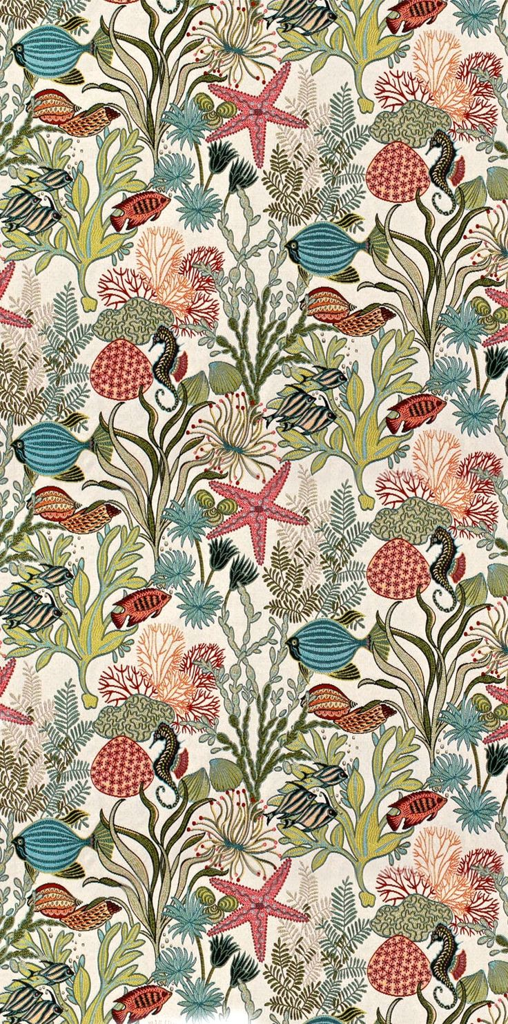 Precioso papel de pared diseñado por William Morris.