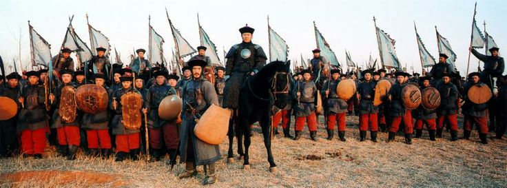 THE WARLORDS, (aka TAU MING CHONG), Jet LI (center), 2007. ©Magnolia Films