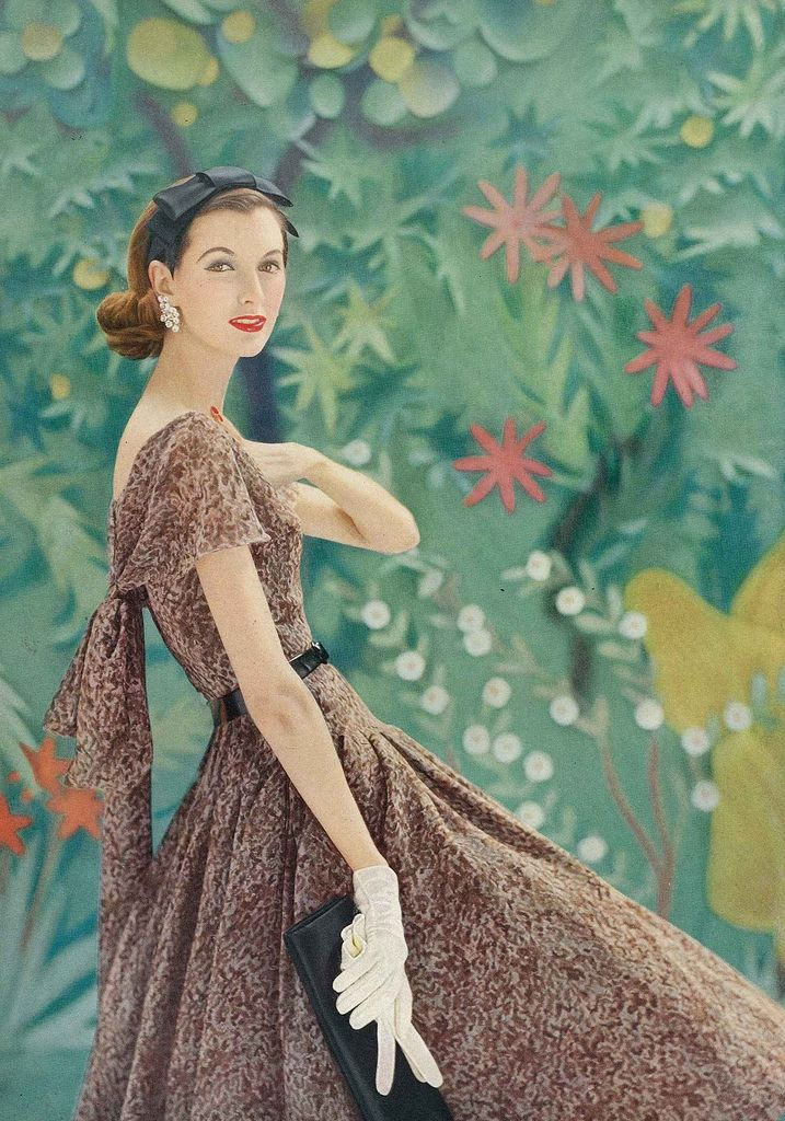 Photographed By Richard Rutledge For Vogue, March 1956