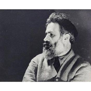 Portrait of Constantin Brancusi