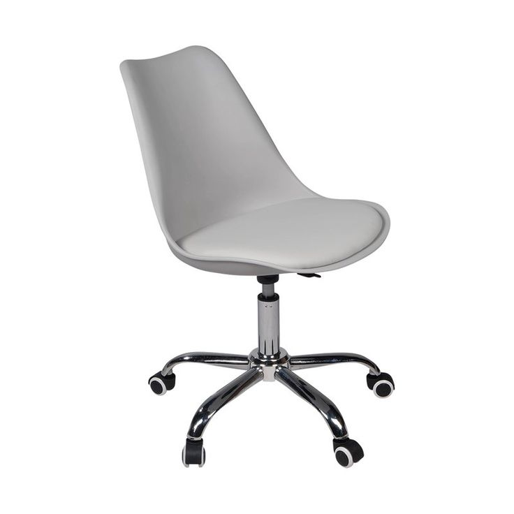 Wonderful Sumptuous Design Inspiration Lucite Desk Chair. Versatile Contemporary Office  Chair In Grey Inspired By The