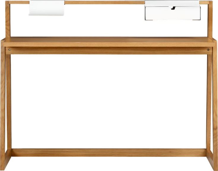 Nice and sleek !  TLD desk in office furniture | CB2