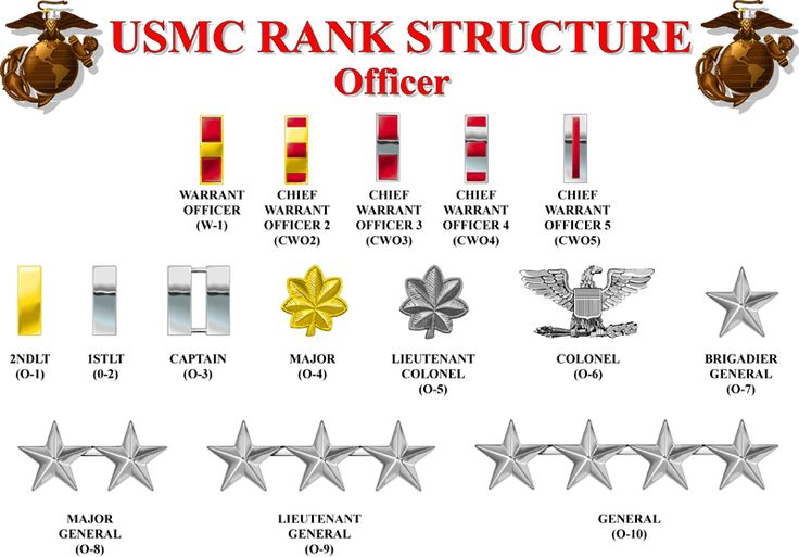 Officer Rank Structure