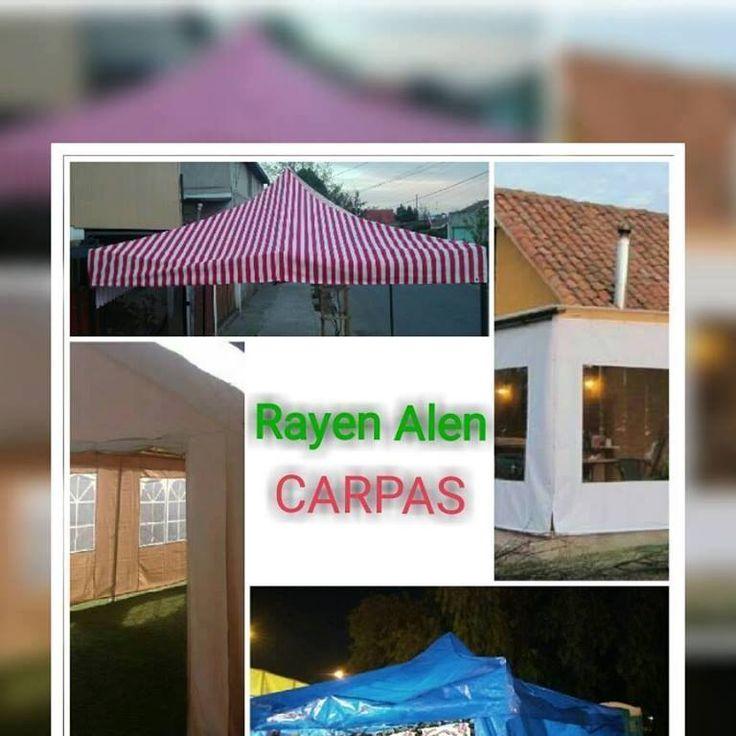CONFECCIONAMOS TODO TIPO DE CARPAS  CARPAS RAYEN