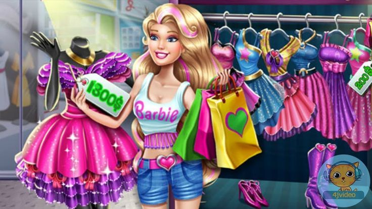 Barbie Games - Barbie Realife Shopping Game for Girls - Best Barbie Games for Kids