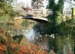 west park wolverhampton - Bridge oldest part of park