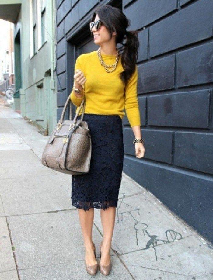 Una de las piezas clave para esta temporada es la falda midi y otoño es la estación perfecta para usarla. Ya que no hace tanto calor (para querer usar algo más corto y ligero), y no hace tanto frío…
