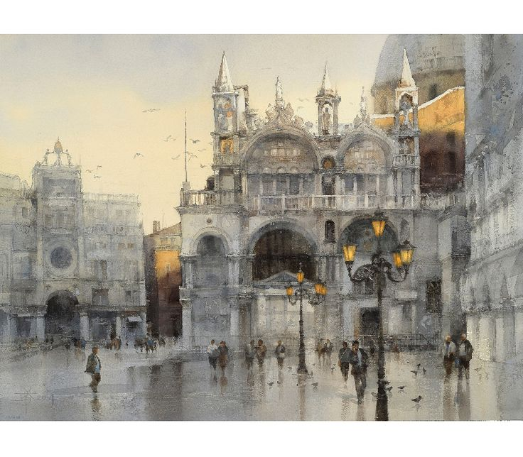 Latest Watercolor 近期水彩 | Chien Chung Wei