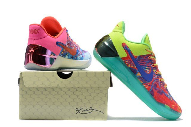 new styles 996a8 64a7c Nike women s Kobe A. D. EP Basketball Shoes Colorful