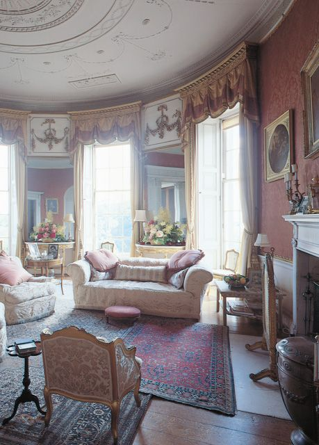 English Country House Drawing Rooms: 50 Best Images About Manderston House On Pinterest