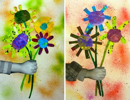 fleurs_eric_carle_2.jpg photocopie du bras , encres au pschttt