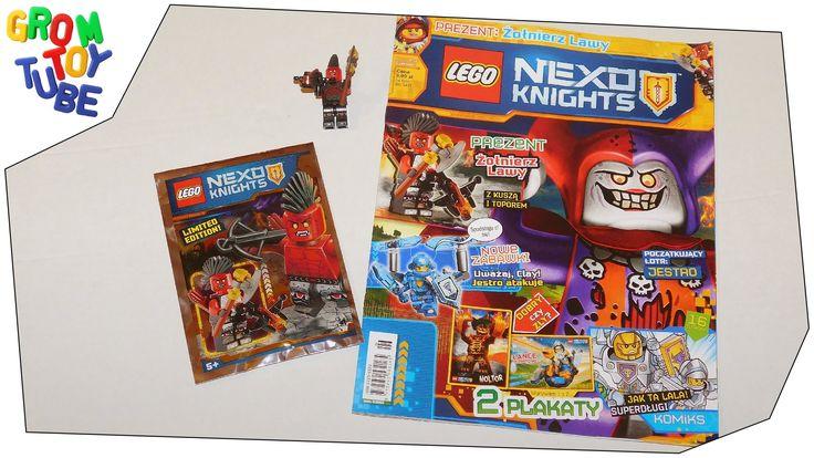 UNBOXING NEW LEGO NEXO KNIGHTS MAGAZINE 5 2016