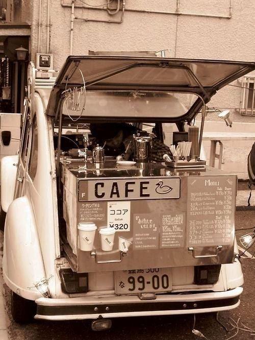 Mobile #Coffee Shop #café #tea