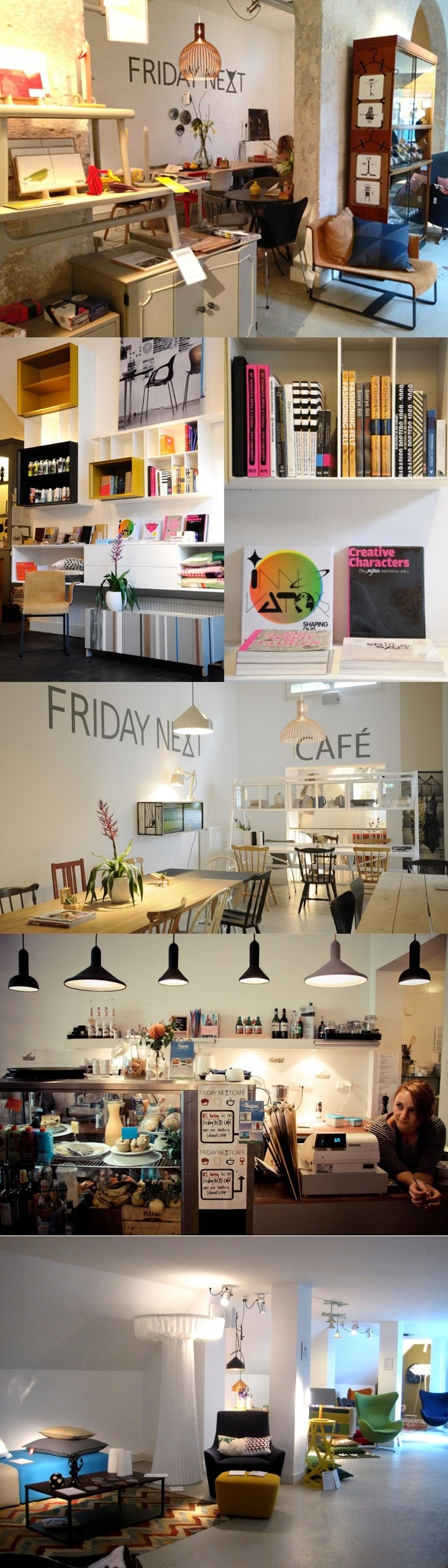 Friday Next A Concept Store Cafe Interior Design Shop And Gallery Space In