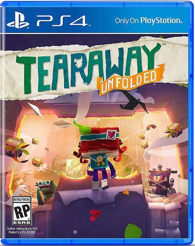 LittleBigPlanet Dev's Tearaway Unfolded Gets PS4 Release Date - GameSpot