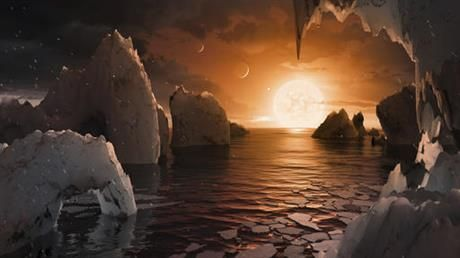 CAPE CANAVERAL, Fla. (AP) — For the first time ever, astronomers have discovered seven Earth-size planets orbiting a nearby star — and these new worlds could hold life. This cluster of planets is less than 40 light-years…
