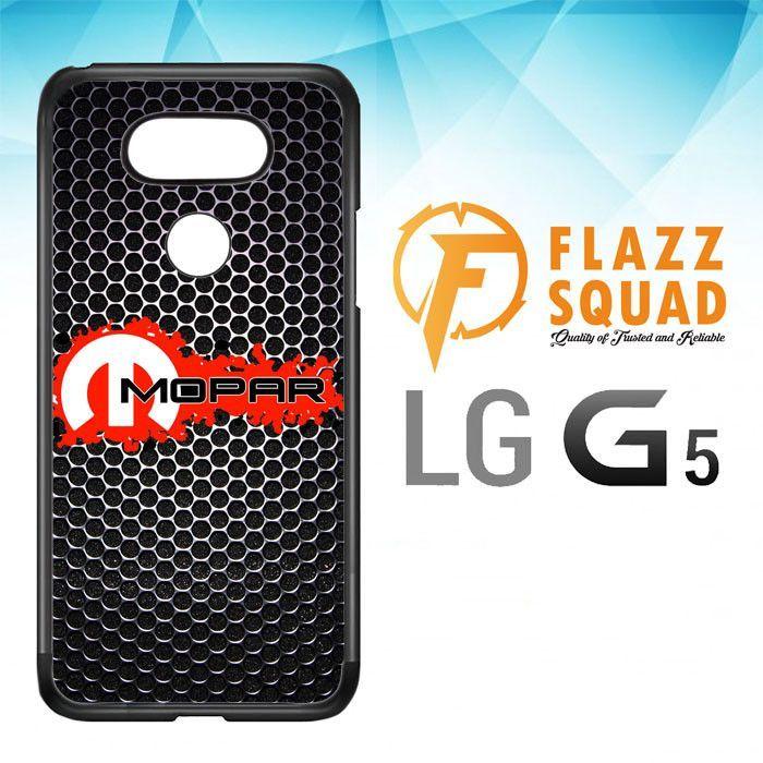 Mopar Black Logo Z4067 LG G5 Case