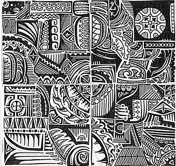 Polynesian Tribal Wallpaper: 34 Best Images About Doodleedoo On Pinterest