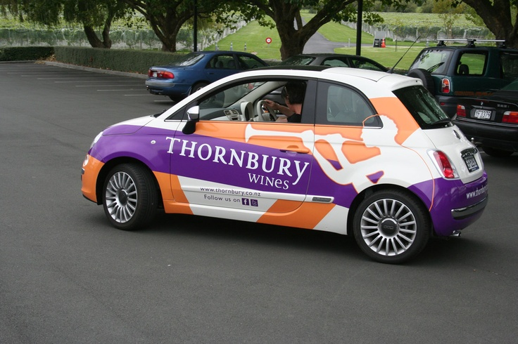 The Thornbury Wines Fiat 500